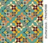 new multicolor seamless pattern ...   Shutterstock . vector #794690488