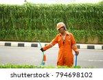 jakarta  indonesia   december...   Shutterstock . vector #794698102