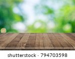 wooden tabletop perspective for ... | Shutterstock . vector #794703598