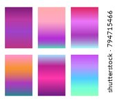 modern violet gradients for...