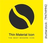 ball bright yellow material...