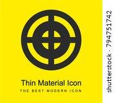 target bright yellow material...