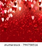 elegant background with vector... | Shutterstock .eps vector #794758516