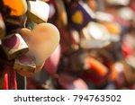 celebrate valentine's day love... | Shutterstock . vector #794763502