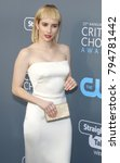 emma roberts at the 23rd annual ... | Shutterstock . vector #794781442