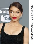 sarah hyland at the 23rd annual ... | Shutterstock . vector #794784232