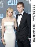 emma roberts and evan peters at ... | Shutterstock . vector #794789986