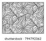 vector abstract pattern page