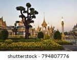 the royal crematorium beyond...   Shutterstock . vector #794807776