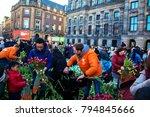january 21  2017. netherlands ... | Shutterstock . vector #794845666