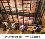 london  january  2018  interior ... | Shutterstock . vector #794868856