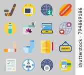 icons set about lifestyle. with ... | Shutterstock .eps vector #794869186