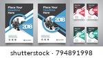 city background business book... | Shutterstock .eps vector #794891998