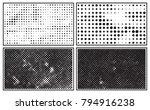 grunge halftone background... | Shutterstock .eps vector #794916238
