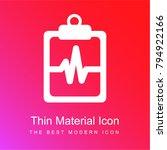 lifeline of heartbeats on a... | Shutterstock .eps vector #794922166