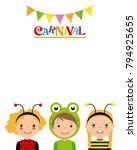 poster children in disguise....   Shutterstock .eps vector #794925655