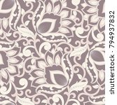 floral vector illustration in... | Shutterstock .eps vector #794937832