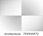 abstract halftone wave dotted... | Shutterstock .eps vector #794944972