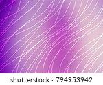 light purple vector doodle... | Shutterstock .eps vector #794953942