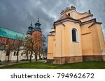 Baroque Church And Gothic...