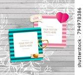 decoration vector template... | Shutterstock .eps vector #794978386