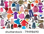clothing | Shutterstock . vector #79498690