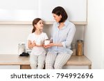 shot of cheerful mother and... | Shutterstock . vector #794992696
