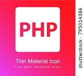 php programming language red... | Shutterstock .eps vector #795014386