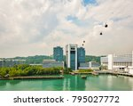 cable car  singapore  asia | Shutterstock . vector #795027772