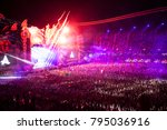 Small photo of Cluj-Napoca, Romania - August 6, 2017: Crowd having fun at Afrojack, a Dutch DJ, record producer and remixer from Spijkenisse, live concert at Untold Festival, the Best Major Music Festival of Europe