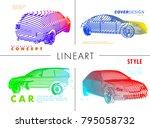 art image of a auto. vector car ...   Shutterstock .eps vector #795058732