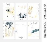 hand drawn creative universal... | Shutterstock .eps vector #795066172