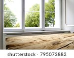 window of spring time and... | Shutterstock . vector #795073882