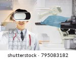 Small photo of The specialists are using state of the art AR technology to treat and advise on the health care of the younger generation in the most advanced laboratory of the hospital
