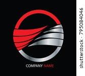 flag logo icon company | Shutterstock .eps vector #795084046