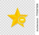 star favorite sign web icon...
