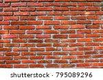 old brick wall texture   Shutterstock . vector #795089296