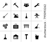 work icons. vector collection...