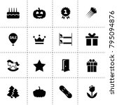decoration icons. vector...