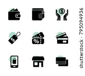 sale icons. vector collection...