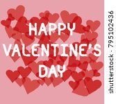 """happy valentine day"" card   Shutterstock . vector #795102436"