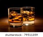 Whiskey On The Rocks  Vibrant...