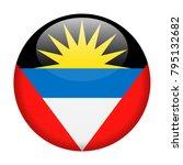 antigua and barbuda flag vector ... | Shutterstock .eps vector #795132682