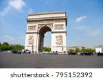 paris  france 2 may 2017  ... | Shutterstock . vector #795152392