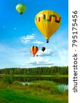 festival of balloons over the... | Shutterstock . vector #795175456