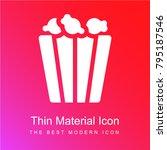 popcorn red and pink gradient... | Shutterstock .eps vector #795187546