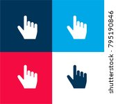 click four color material and... | Shutterstock .eps vector #795190846