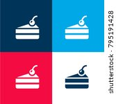 cake four color material and...