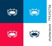 stadium four color material and ...