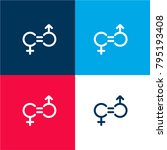 gender equality four color...